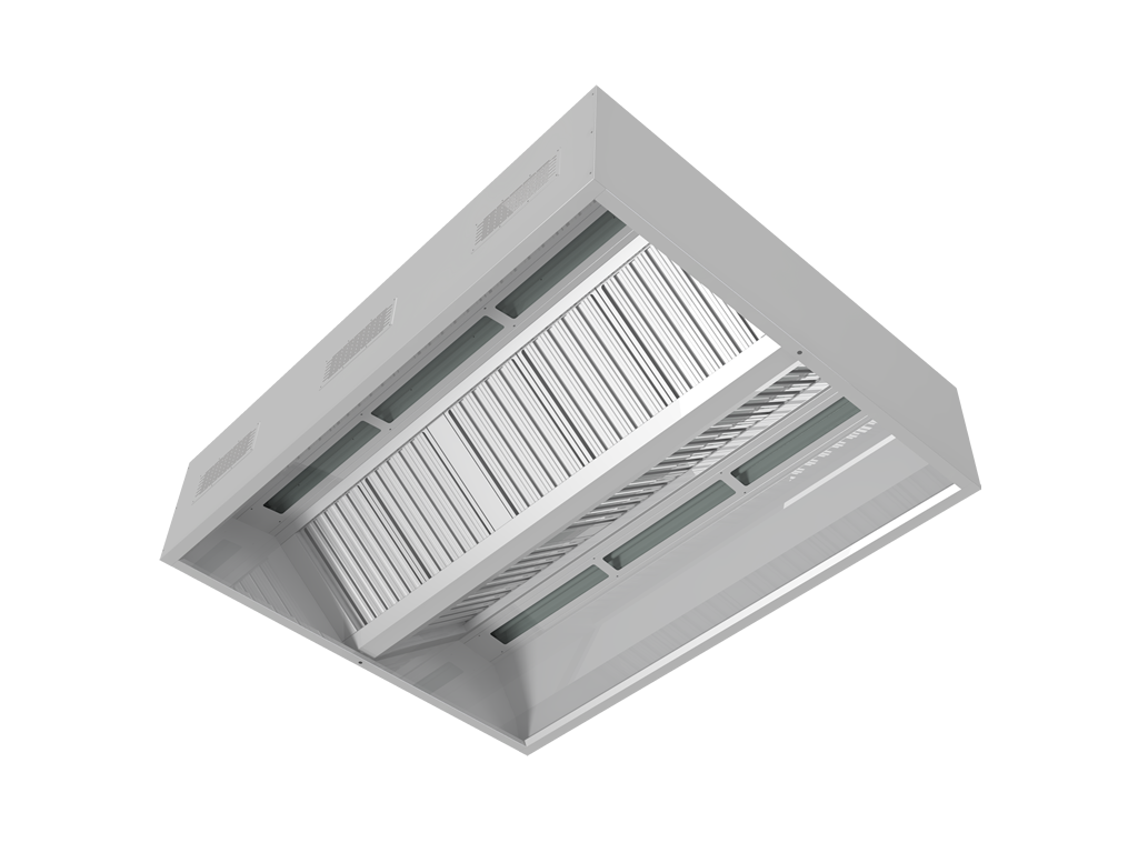Balanced airflow hoods with compensation