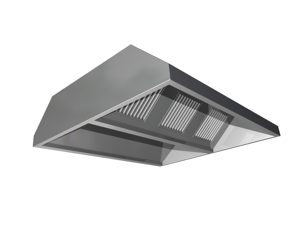 Professional hoods without extractor fan