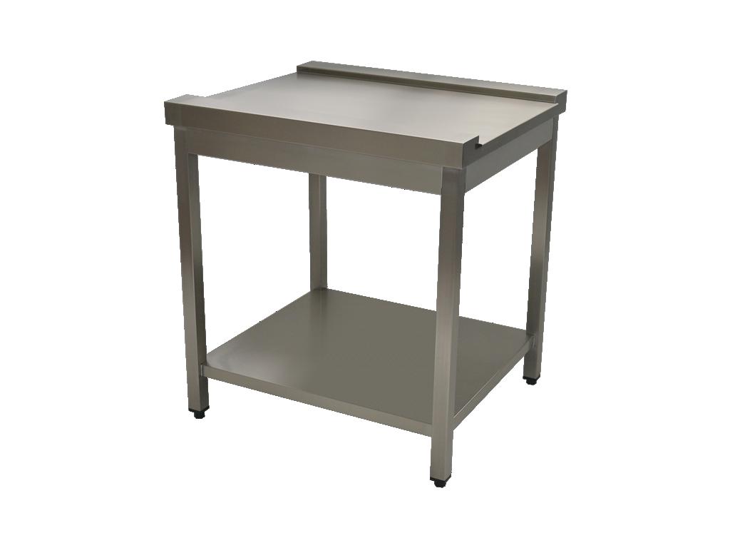 Dishwasher exit tables